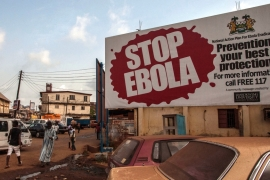 About 4,000 people have died of Ebola in Sierra Leone over the last two years [Aurelie Marrier d''Unienville/AP Photo]