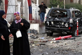 The latest suicide bombing attack in Iraq targeted a Shia neighbourhood of the capital [File: EPA]
