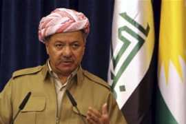 Iraq's Kurdistan region's President Massoud Barzani [REUTERS] [Reuters]