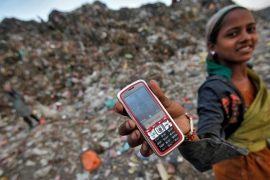 Village elders say the mobile phone ban is needed to keep girls out of trouble [Adnan Abidi/Reuters]