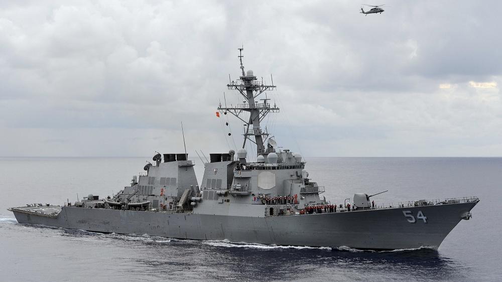China condemns US as warship transits Taiwan Strait again
