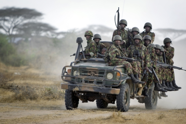 Once a safe haven for al-Shabab, Kenyan security forces have taken back Garissa and Lamu counties [Ben Curtis/AP]