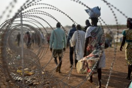 The UN commission said looting occurs while roughly half of South Sudan's people, or 6 million civilians, are going hungry [FILE: Jason Patinkin/AP]
