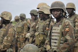 Ugandan troops are part of the African Union's peacekeeping mission in Somalia [File: AP Photo]