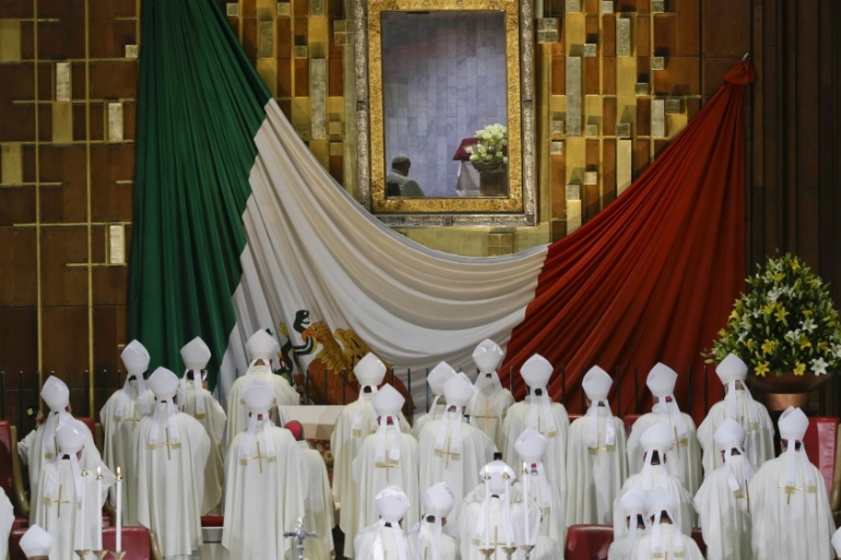 Pope Francis is due to visit Ecatepec, a violent suburb of Mexico City  [Gregorio Borgia/AP]