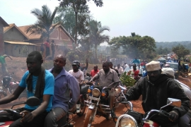 Violence erupts days ahead of Uganda elections