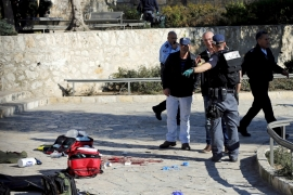 Deadly shooting rocks East Jerusalem