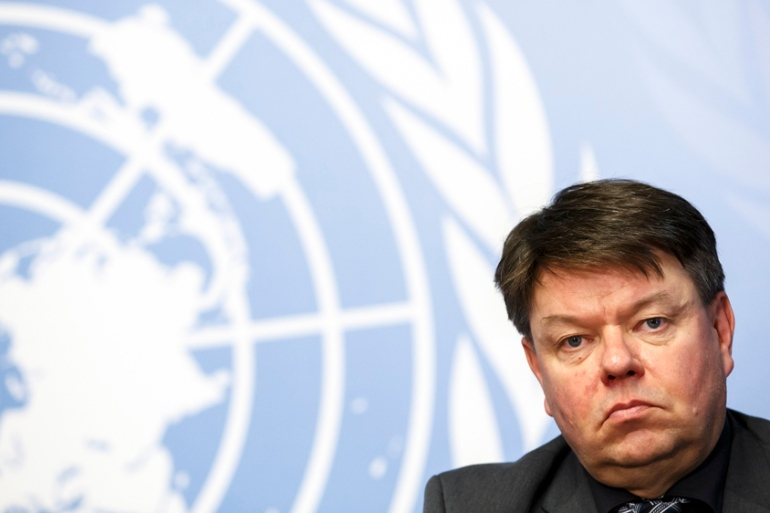 WMO Secretary-General Petteri Taalas' report makes depressing reading for those concerned about the planet [EPA/Salvatore Di Nolfi]