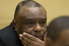 Prosecutors argued Bemba's forces 'raped their victims at gunpoint anywhere and at any time' [Peter Dejong/EPA]