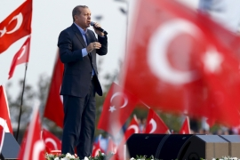 Prime Minister Erdogan has vowed to 'hit these terrorist organisations as hard as possible' [Reuters]