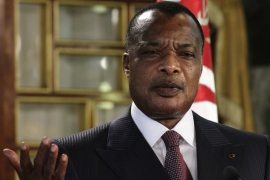 Sassou Nguesso returned to office in March last year after a constitutional referendum ended a two-term presidential term limit [Reuters]