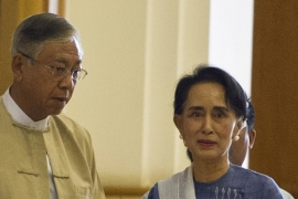 National League for Democracy member Htin Kyaw has known Suu Kyi since grade school [AFP]