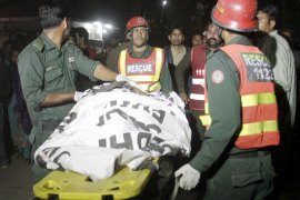 Scores killed in attack on park in Pakistan's Lahore