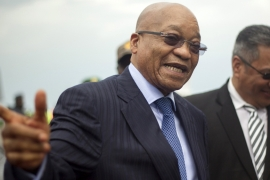South Africa leader survives second no confidence vote