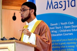 Abdullah Hasan of Imams Against Domestic Abuse, says 'society needs to come together to tackle' domestic abuse [Image courtesy of Abdullah Hasan]
