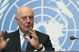 UN envoy Staffan de Mistura: 'No plan B for Syria'