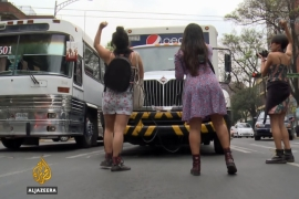 Women fight back against sexual harassment in Mexico