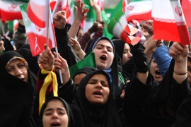 Has Obama defended human rights in Iran?