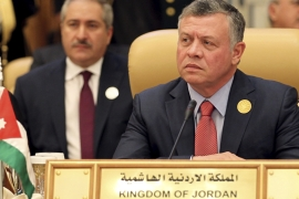 King Abdullah II's government denied reported comments about the Saudi-led anti-terror coalition [Faisal Nasser/Reuters]