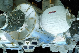 BEAM could potentially provide space missions with larger and more robust living quarters [AP]