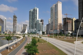 General view of high-rise buildings in Panama City, Panama [EPA]