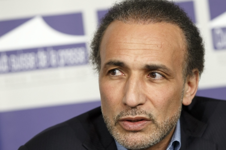 Swiss philosopher and professor of contemporary Islamic studies Tariq Ramadan faces accusations of rape in France [EPA]