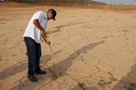 Venezuela is suffering from drought caused by the El Nino weather phenomenon [Reuters]