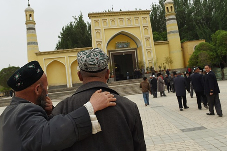 Many experts doubt the Uighur groups' links to global terrorism [AFP]