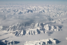 If the entire Greenland ice sheet melted, it could add six metres or more to the global sea level [Reuters]