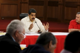 Venezuela's President Nicolas Maduro has announced temporary reduced work weeks for public sector employees [File: Reuters]