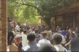 Students protest at Sudan's oldest university