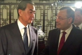 Foreign Minister Wang Yi discusses Beijing's relationship with world powers with Al Jazeera's Ahmed Mansour [Al Jazeera]