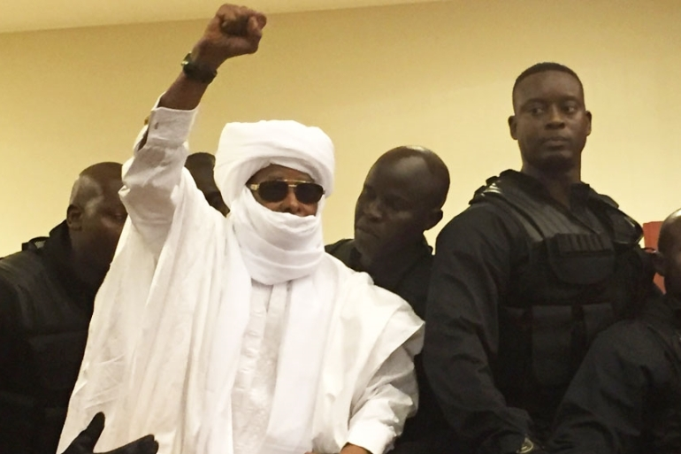 Last month's verdict against Habre brought closure for relatives of up to 40,000 people killed in his time as president [Carley Petesch/AP]