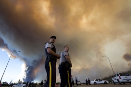 Canada wildfire likely to double in size: official