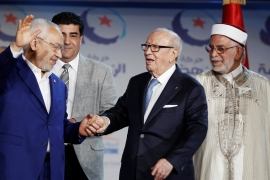 Ennahda is seeking a brand of 'Tunisification' of its identity as a major political force [Reuters]