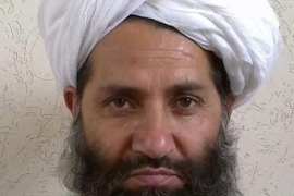 Akhanzada fought against the Russians, then joined the Taliban in 1994 [Reuters/Handout]