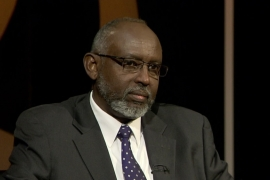Abdirahman Mahdi, the foreign secretary of ONLF, maintains he is in tune with the needs of the people in Ethiopia's Somali region despite living in the UK [Al Jazeera]