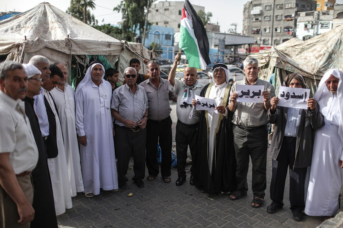 Nakba Day is marked each year throughout the Palestinian territories and internationally. [Wissam Nassar/Al Jazeera]