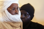 Hissene Habre, the former Chadian dictator, pictured at the Palais de Justice in Dakar, Senegal, July 20, 2015. [EPA]