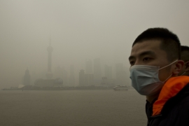 China had two of the world's top 10 most polluted cities [Reuters]