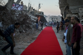 Gaza red carpet event 'mirrors Cannes Film Festival'
