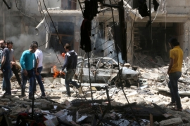 Syria's civil war: Efforts intensify to protect Aleppo