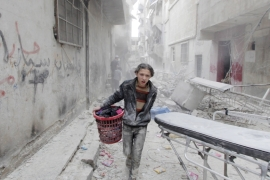 The Syrian conflict has resulted in deaths of over 250,000 people in the past five years [Reuters]