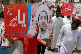 The Al-Wefaq bloc condemned the verdict as 'unacceptable and provocative' [Hamad Mohammed/Reuters]