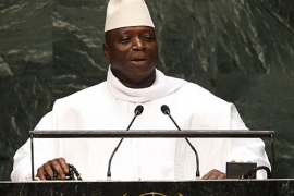 Gambia's president Jammeh took power in a 1994 coup  [Daylife]