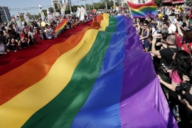 Pride Parade and Pride Week Istanbul have taken place since 2003 [EPA]