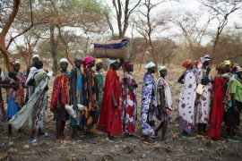 UN agencies have warned that up to 4.8 million people in South Sudan will face severe food shortages in the coming months [Reuters]