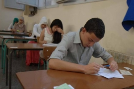 A total of 555,177 pupils will be resitting partial baccalaureate exams this week [Al Jazeera]