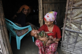 Some 125,000 Rohingya remain internally displaced [File pic: EPA]