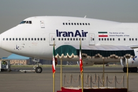 'Out of 250 planes in the country, 230 need to be replaced, an Iranian official says [Reuters]